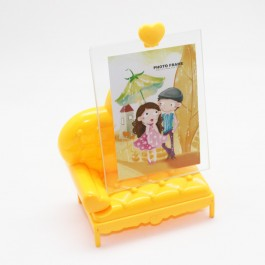 Glass Photo Frame (Heart Couch)