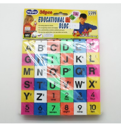 36pcs Educational Block