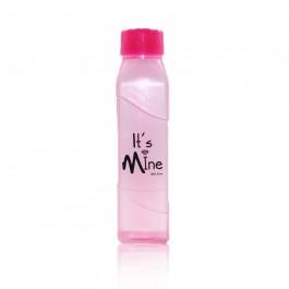 Square Bottom Bottle - Medium Size (PINK)