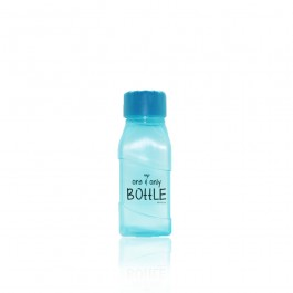 Square Bottom Bottle - Small Size (BLUE)