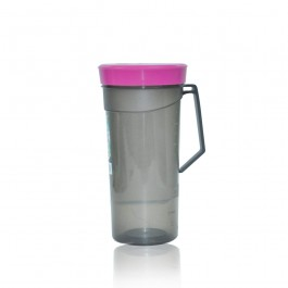 Tumbler with Handle (Dark Shade) - PINK