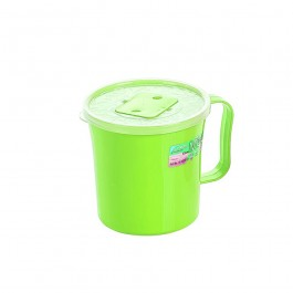 12cm Mug with Cover - GREEN
