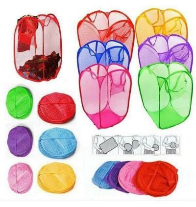 Laundry Basket Clothes Folding colourful 20cm X 20cm