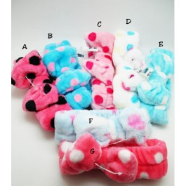 Hairband polkadot Print Elastic For Girl