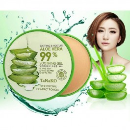 Aloe vera Compact Powder Bedak Women