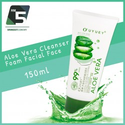 99% Aloe Vera Cleanser Foam Facial Face 150ml