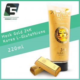 Mask Gold 24K Korea L-Glutathione 220ml