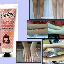 Cathy Doll Whitening Magic Cream Krim Pemutih 138ml