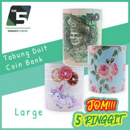 Tabung Duit Coin Bank