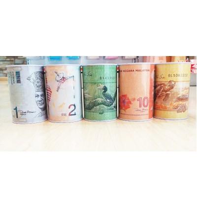 Tabung duit Malaysia Coin Kecik