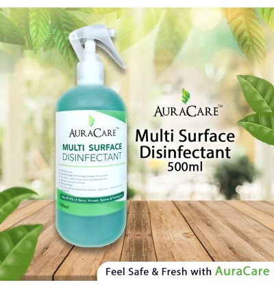AuraCare Multi Surface Disinfectant 500ml