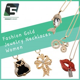 Fashion Gold Jewelry Necklaces Women
