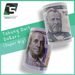 Tabung duit/ Coin Bank Extra Large