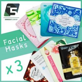 Facial Mask x3