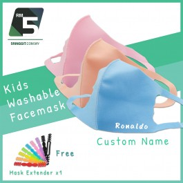 Kids Washable Facemask