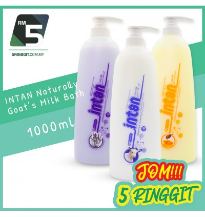 Intan Naturally Goat's Milk Bath