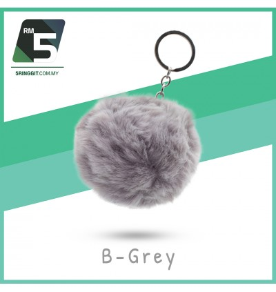 Fluffy Cute Keychain For Girls