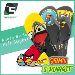 Angry Birds Kids Slippers