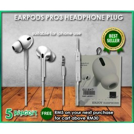 Earpods Pro3 Headphone Plug