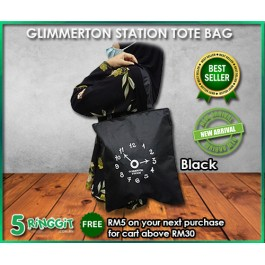 Glimmer Station Tote Bag