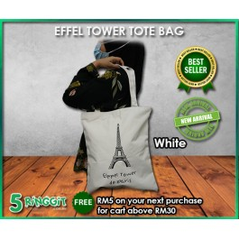 Effel Tower Tote Bag - 5 Ringgit