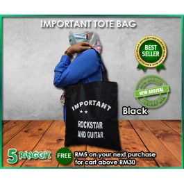 Important Tote Bag - 5Ringgit.com.my (Kedai RM5 Ringgit)