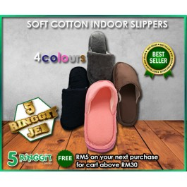 Korean Fashion Indoor Soft Slipper