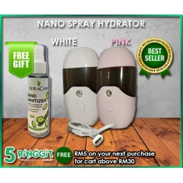 NANO SPRAY HYDRATOR (FREE HAND SANITIZER SPRAY 50ML)