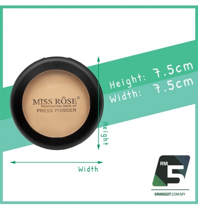 Miss Rose Powder Round